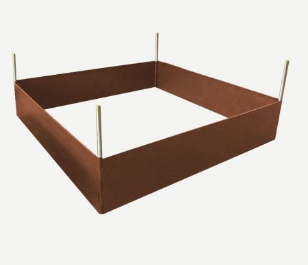 Carre potager EasyBed marron