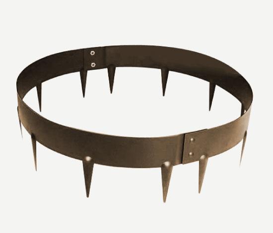Bordures circulaires en acier